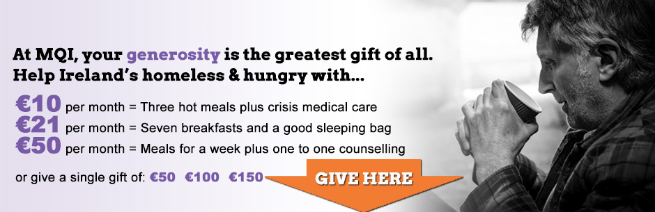 Help Ireland Homeless With Donation