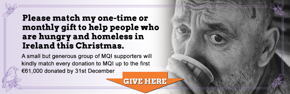 Help people who are hungry and homeless in Ireland this Christmas